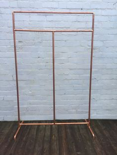 Revolution Copper Clothes Rail