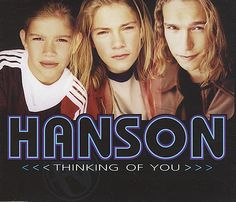 "Image detail for -Hanson Thinking Of You UK 5"" Cd Single 568813-2 Thinking Of You Hanson ..."