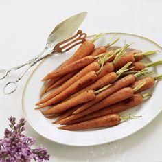 Balsamic-Glazed Baby Carrots