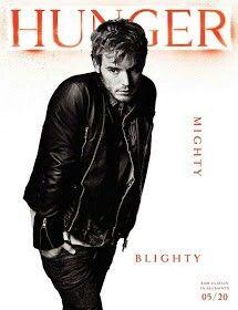 Sam en la portada de la revista Hunger