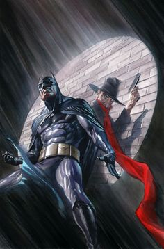 Batman & The Shadow by Alex Ross