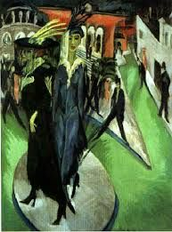 Ernst Ludwig Kirchner, 1914 Potsdamer Platz. Oil on canvas. Neue Nationalgalerie. Berlin