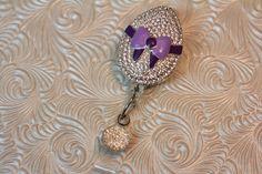 Easter Bling  badge holder  badge reel  by DefinitelyYou on Etsy
