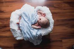 Chesapeake Virginia in Home Family Newborn Baby Boy Photo Session Blue