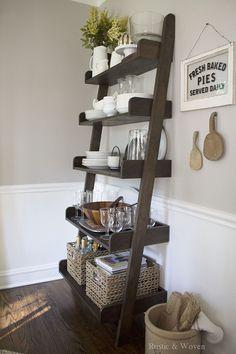 ladder shelf decorating ideas upstairs remodel in 2019 rh pinterest com