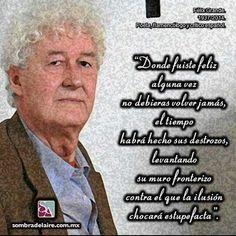 #EfemérideLiteraria 1937: nace #FelixGrande autor de #LasCalles #Literatura #Poesía #Cuento www.sombradelaire.com.mx