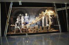 Harvey Nichols Jurassic Park windows, Hong Kong visual merchandising