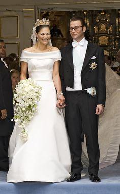 Wedding of Crown Princess Victoria of Sweden and Daniel Westling, June 2010 | The Royal Order of Sartorial Splendor: