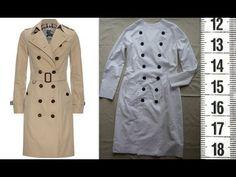 Я ШЬЮ: Тренч ч.1. Шью пробник. / I SEW: Basic trench-coat. Test. - YouTube