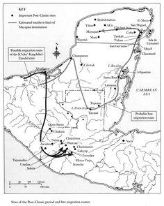 Maya-migration-routes