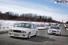 BMW e30 M3 and e46 M3