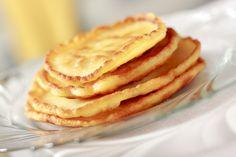 Pancakes de harina de arroz , son perfectos para los que tienen problemas de intolerancia a la lactosa o al gluten.