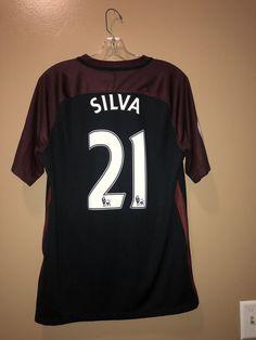 7c85d8aae Man City David Silva Jersey Size Medium  fashion  clothing  shoes   accessories