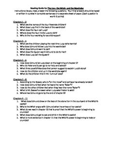 chronicles of narnia essay questions As you read the chronicles of narnia for the first time, or rediscover their magic, take some time to discuss them this reading group guide is intended to spark debate about topics such as good versus evil, symbolism, and relationships.