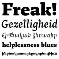 Arek | Typeface Review | Typographica