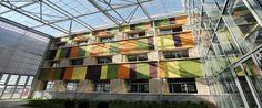 Edificio de la sede de IFR GROUP en el Parque Científico y Tecnológico Agroalimentario de Lleida.