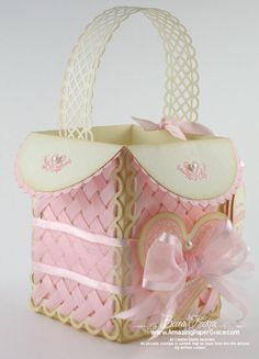 A Basket for my Sweetie – New Lattice Video Tutorial & Guide » Spellbinders » Tutorials » Waltzingmouse » Amazing Paper Grace