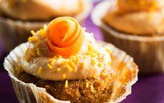 Carrot muffins - Mausteiset porkkanamuffinit