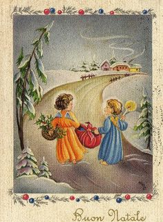 1954 Miss Jane: Christmas Cards 1