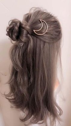 Cute Hairstyles For Medium Hair, Up Hairstyles, Natural Hairstyles, Easy Wedding Hairstyles, Simple Hairstyles For Medium Hair, Braided Hairstyles, Kawaii Hairstyles, Easy Hairstyles For Medium Hair, Homecoming Hairstyles