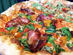 Pumpkin Report: Lucifer's Roasted Pumpkin and Prosciutto Pizza Los Angeles Magazine Prosciutto Pizza, Prosciutto Recipes, Pumpkin Pizza, Roast Pumpkin, Pizza Los Angeles, Pizza Recipes, Vegetable Pizza, Food Porn, Eat