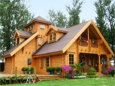Small wood house design contemporary minimalist wooden house design 4 home ideas wood house design modern Wooden House Plans, Modern Wooden House, Wooden Houses, Houses Houses, Wood House Design, Cottage Design, Roof Design, Tiny House Cabin, Log Cabin Homes