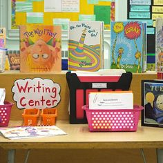 Great ideas that keep kids coming back to the writing center! @balancedliteracydiet #balancedliteracy #education #backtoschool