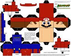 Mario cubee by MysterMDD on deviantART