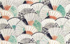 Vanessa Bell fabric design.