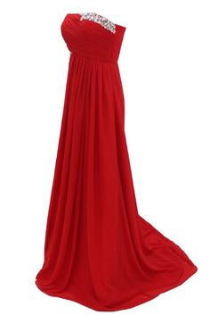 Amazon.com: Dressystar Long Red Formal Evening Party Dresses: Clothing