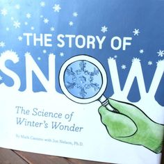 What is your favourite book for winter?  The Story of Snow is a fascinating one about how snowflakes form and change as they fall! Looking for more of my top picks for #winter read alouds? Here they arehttp://bit.ly/ptbpwinterbooks