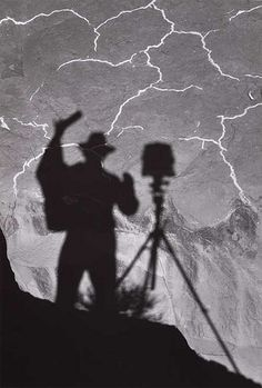 Ansel Adams, Self-portrait, Monument Valley, Utah, 1958 | >>Follow Steve Garvin on Pinterest for more Photography Pins.<<