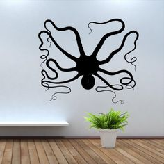 Wall Decal Art Decor Decals Sticker Animal Ocean Octopus Shellfish Sea Fish Ship (M100) DecorWallDecals http://www.amazon.com/dp/B00FVSHAQS/ref=cm_sw_r_pi_dp_ppOXub1RSNTQG