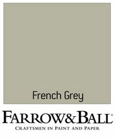 farrell and ball french grey - wall color