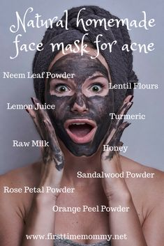 mask diy Wondering how to make natural homemade face mask for acne? learn how to make natural homemade face mask. Homemade Moisturizer, Face Scrub Homemade, Homemade Face Masks, Homemade Skin Care, Organic Homemade, Homemade Beauty, Face Care Tips, Skin Care Tips, Face Mask For Spots