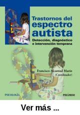Trastornos del espectro autista : detección, diagnóstico e intervención temprana / Francisco Alcantud Marín (coordinador). -- Madrid : Pirámide, 2013 http://absysnetweb.bbtk.ull.es/cgi-bin/abnetopac01?TITN=486704                                                                                                                                                                                 Más