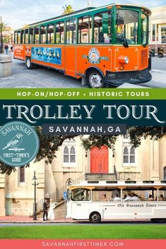 Need help picking the best trolley tour in Savannah? This post lists the perks of each company. Savannah Trolley Tour Reviews   Savannah Trolley Tours   Things To Do in Savannah   savannahfirsttimer.com