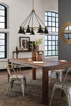 The Towner 7  Light Chandelier By Sea Gull Lighting Brings Mid Century,  Retro. Kitchen LightingDining Room ...