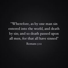 Image result for romans 5 12 kjv