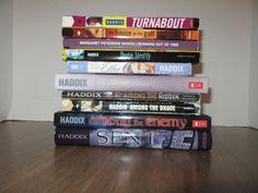 Margaret Peterson Haddix 10 Book Mixed Lot Just Ella Among the Hidden Sent YA