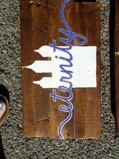 SLC eternity pallet sign (mini) (hoc made 6-14)