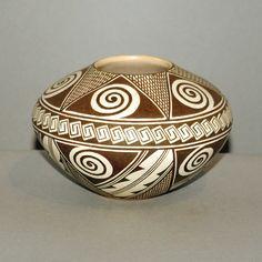 Hopi bowl, by Rainy Naha