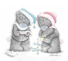 •́ᴥ•̀ Tatty •́ᴥ•̀   Tatty Teddy #christmas #winter