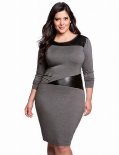 Even plus size persons have different shapes and sizes of body parts. Hence, if a dress suits your plus size best friend, it is not necessary it will suit you.
