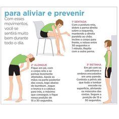 Prevenção dor nas costas / Preventing back pain