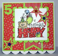 Crazy4flowers cards: Bugaboo Stamps