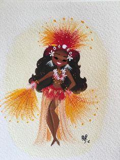 Sunrise. Tahitian Dancer - Liana Hee