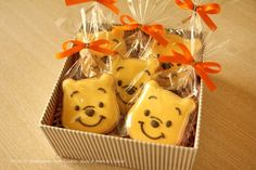 Winnie the Pooh Cookie Molds | Winnie the Pooh cookie copyright (c) Colacat