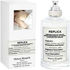 イタリア、フローレンスの清々しく晴れた日曜の朝。洗い立てのリネンのシーツがなめらかに肌を包み込みます。いつまでもこのままでいたい、フレッシュでゆっくりとした落ち着きのひと時を再現。#香水 #フレグランス #メゾン マルジェラ レプリカ レイジー サンデー モーニング オードトワレ Bed Liner, Fragrance, Eau De Toilette, Perfume