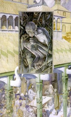 The Council of Elrond by Alan Lee